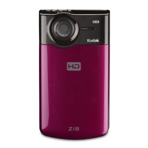 Kodak Zi8 HD Pocket Video Camera (Raspberry)