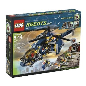 LEGO Agents 2.0 Aerial Defense (8971)