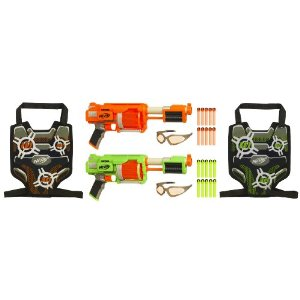 Nerf Dart Tag Furyfire 2 Player Set with Vision Gear