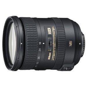 Nikon AF-S DX 18-200mm f/3.5-5.6G ED VR II Telephoto Zoom Lens for Nikon DX-Format Digital SLR Cameras