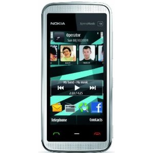 Nokia 5530 XpressMusic Unlocked Touchscreen Phone with Warranty (White)