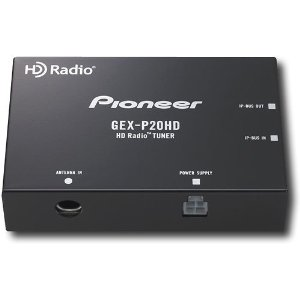 Pioneer GEX-P20HD HD Radio Tuner for Compatible Pioneer Car Receivers