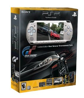 PSP Limited Edition Gran Turismo Entertainment Pack (PSP-3000 Series) (Silver)