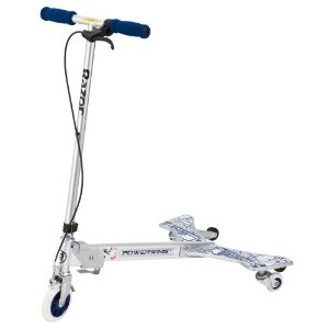 Razor PowerWing Caster Scooter (Silver)
