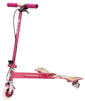 Razor PowerWing Scooter for Girls (Sweet Pea, aka Daisy Pink)