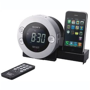 Sony ICF-C7IP Clock Radio Dock for iPod, iPhone