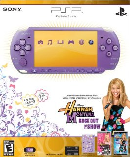 Sony PSP Limited Edition Hannah Montana Entertainment Pack (PSP-3000 Series) (Purple)