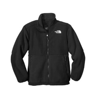 The North Face Boys Denali Jacket AC9G (Boys, Black)