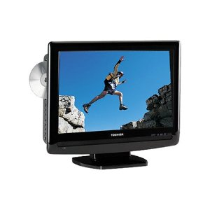 "Toshiba 15LV505 15.6"" LCD TV with Integrated DVD Player"
