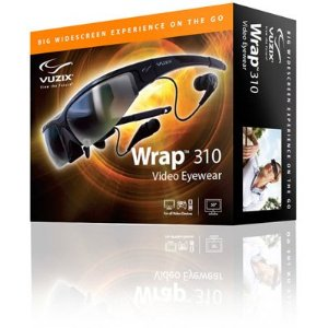 Vuzix Wrap 310 2D and 3D Video Eyewear