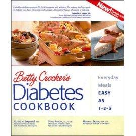 Betty Crocker's Diabetes Cookbook: Everyday Meals, Easy as 1-2-3
