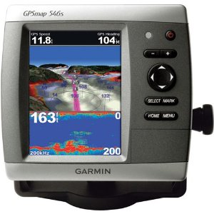 Garmin GPSmap 546s Marine Chartplotter/Fishfinder with Dual Frequency Transducer (010-00774-01)