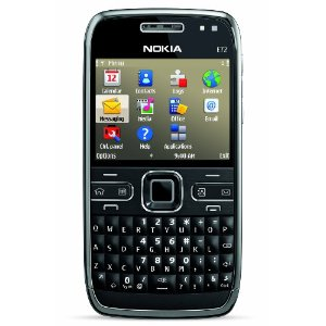 Nokia E72 Unlocked Phone (Zodium Black)