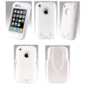 OtterBox Defender Case for iPhone (White)