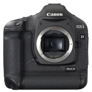 Canon EOS-1D Mark III 10.1MP DSLR Camera (Body Only)