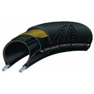 Continental Grand Prix 4000S Road Tire with Black Chili Compound (700x23, Black)