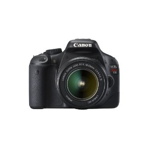 Canon EOS Rebel T2i 18MP DSLR with EF-S 18-55mm f/3.5-5.6 IS Lens