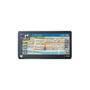 Motorola MotoNav TN765t 5.1 Widescreen GPS with Lifetime Traffic