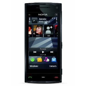 Nokia X6 Unlocked 16GB Smartphone with Touchscreen (Black)