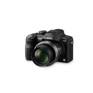 Panasonic Lumix DMC-FZ35 12.1MP Digital Camera with 18x POWER O.I.S. Zoom, HD Video