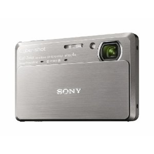 Sony Cyber-shot DSC-TX7 Exmor R 10.2MP Digital Camera with 4x IS Zoom and Touch Screen LCD (Silver)