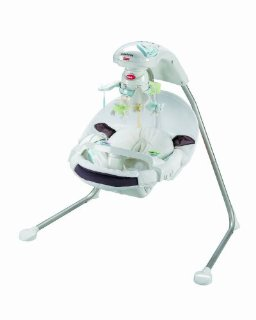 Fisher Price My Little Lamb Cradle N Swing Battery