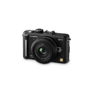 Panasonic Lumix DMC-GF1 12.1MP Micro Four-Thirds Lens Digital Camera with LUMIX G 20mm f/1.7 Aspherical Lens