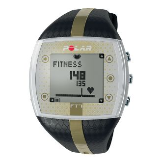 Polar FT7 Heart Rate Monitor (Women's, Black/Gold)