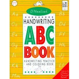 D'Nealian Handwriting ABC Book: Manuscript