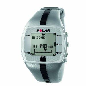 Polar FT4 Men's Heart Rate Monitor FT4M (Silver/Black)