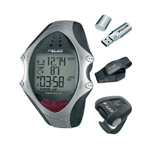 Polar RS800CX Multi-Sport Heart Rate Monitor with G3 GPS Sensor, and W.I.N.D.