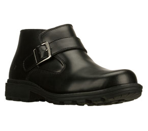 SKETCHERS Black Canyons Fights Motorcycle Boots Mens