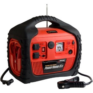 Wagan 400-Watt Power Dome EX Jumpstarter with Built-In Air Compressor with Radio, iPod Input #2454