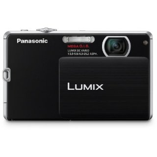 Panasonic Lumix DMC-FP3 14.1mp Digital Camera with 4x MEGA O.I.S., Lumix DC Vario Lens (Black)
