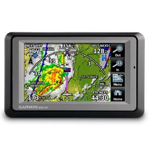 Garmin Aera 560 Aviation GPS - Americas Database (010-00836-30)