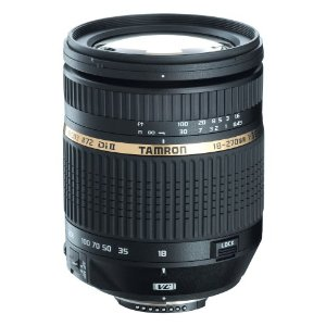 Tamron AF 18-270mm f/3.5-6.3 Di II VC LD Aspherical IF Macro Zoom Lens  with Built-In Motor (BIM) for Nikon DSLR Cameras