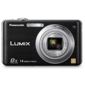 Panasonic Lumix DMC-FH20 14.1MP Digital Camera with 8x IS Zoom (Black)