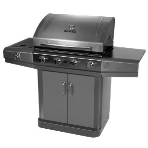Char-Broil 463420509 4-Burner Gas Grill with Side Burner N480