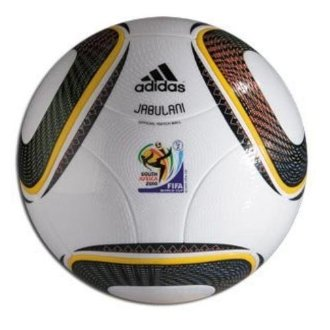 Adidas World Cup 2010 South Africa Jabulani Official Match Ball (Size 5, # 42040)