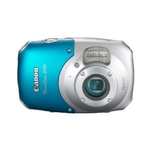 Canon PowerShot D10 12.1MP Waterproof Digital Camera with 3x IS Zoom