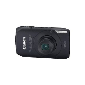 Canon PowerShot SD4000IS Digital Elph 10MP Digital Camera with 3.8x  Zoom (Black)