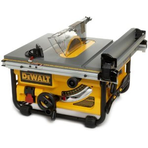 "DeWalt DW745 Compact 10"" Job-Site Table Saw with 16"" Max Rip Capacity"
