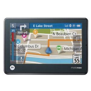 "Motorola Motonav TN565T 4.3"" GPS with Lifetime Traffic"