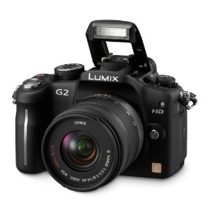 Panasonic Lumix DMC-G2 12.1MP Live MOS Interchangeable Lens Camera with Touchscreen and 14-42mm G VARIO f/3.5-5.6 MEGA OIS Lens