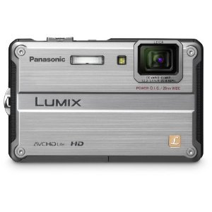 Panasonic Lumix DMC-TS2 14.1MP Waterproof Digital Camera with 4.6x Optical IS Zoom (Silver)