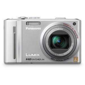 Panasonic Lumix DMC-ZS7 12.1MP Digital Camera with 12x O.I.S. Zoom, HD Video (Silver)