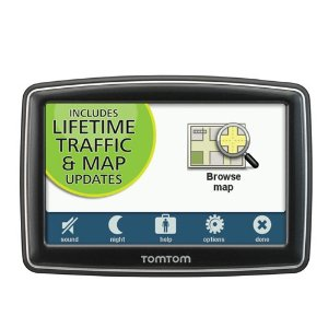 TomTom XL 350-TM 4.3 GPS with Lifetime Traffic & Map Updates