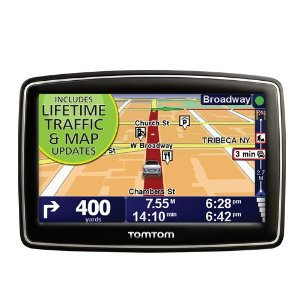 TomTom XXL 540-TM GPS with Lifetime Traffic & Map Updates