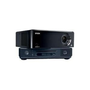 Epson MovieMate 72 HD Projector, DVD and Music Player Combo (V11H257220)