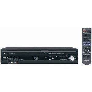 Panasonic DMR-EZ48V HD VHS/DVD Combo Recorder with Built In Tuner
